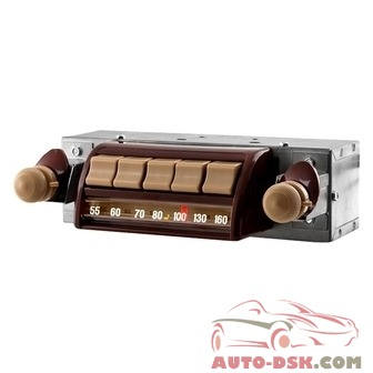 Antique Automobile Radio 042301BT - AM/FM Factory Style Radio with Bluetooth