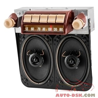 Antique Automobile Radio 042314BT - AM/FM Factory Style Radio with Bluetooth and Speakers