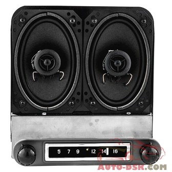 Antique Automobile Radio 172014BT - AM/FM Factory Style Radio with Bluetooth and Speakers