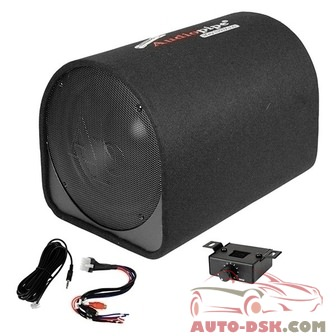 Audiopipe APDX12A - 12in AP-DX Series Ported Powered 600W Subwoofer Tube