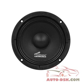 Audiopipe APMB65FLT - 6-1/2in Flat Series Flat Design 250W Midrange Speaker