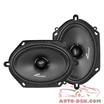Audiopipe APMB6800C - 6in x 8in APMB Series 250W Midrange Speakers