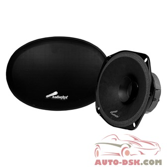 Audiopipe APMB6911DL - 6in x 9in Entry Level Dual Cone Series 250W Midrange Speakers