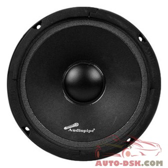 Audiopipe APMB6DCB - 6in Aluminum Basket Series 250W Midrange Speaker