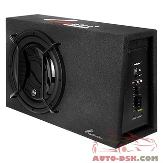 Audiopipe APSB12AMP - 12in APSB Series Single Sealed Powered 600W Subwoofer Enclosure