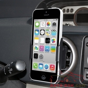 Amzer AMZ96664 - Swiveling Air Vent Mount for iPhone 5C