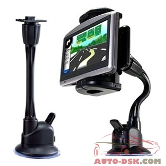 Bracketron GWM-262-BL - 9in Flexible Windshield Suction Cup Mount with Grip-iT Device Holder