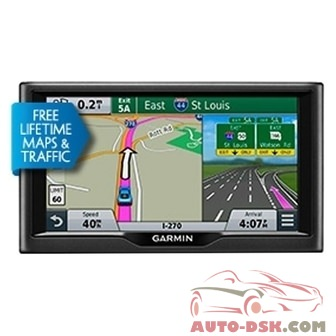 Garmin 010-01399-05 - nuvi 68LMT 6in Vehicle GPS Navigator with Free Lifetime Maps and Traffic