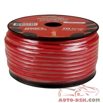 Audiopipe AP10100RD - 10 Gauge 100 Red Primary Wire