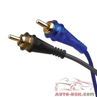 Audiopipe BMSBLSYF2M - Superflex 1 Male to 2 Female RCA Cable Y Connector
